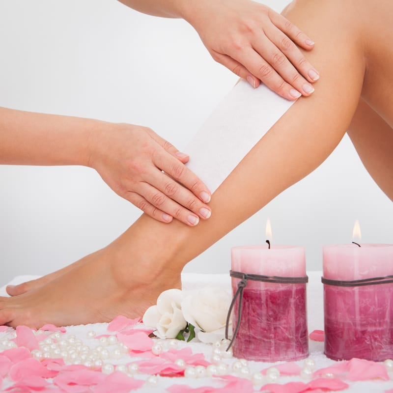 leg waxing course