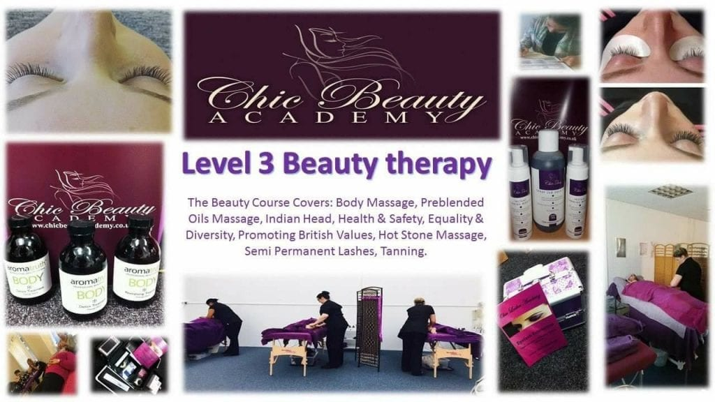 level 3 beauty course